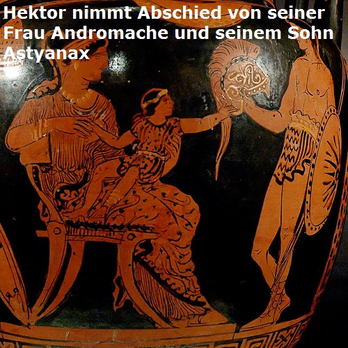 Astyanax (Mythologie): Sohn vom trojanischen Prinz Hektor Astyan10
