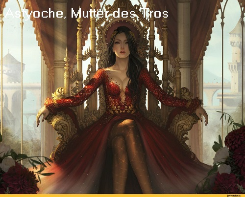 Astyoche (Mythologie): Tochter des Simoïs, Mutter des Tros Astyoc10