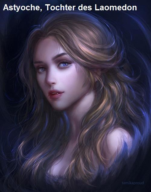 Astyoche (Mythologie): Tochter des Laomedon Astyoc11