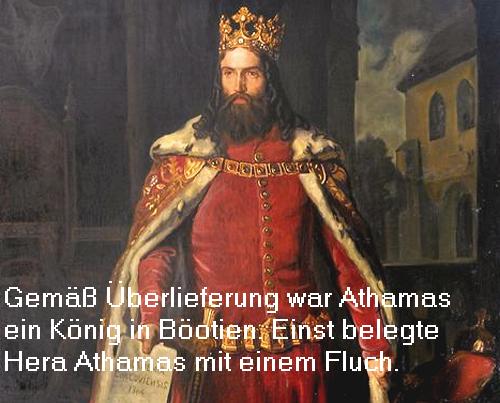 Athamas (Mythologie): König von Böotien, hat die Stadt Halos in Thessalien gegründet Athama10