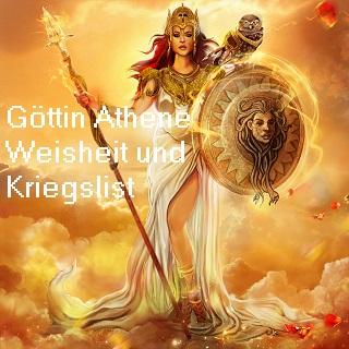 Athene (auch Athena): Göttin der Weisheit und Strategie, Schutzherrin von Athen Athene10