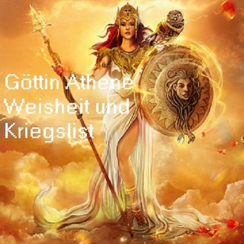 Athene (auch Athena): Göttin der Weisheit und Strategie, Schutzherrin von Athen Athene11