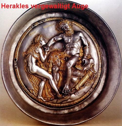 Auge (Mythologie): Wurde von Herakles vergewaltigt Auge10