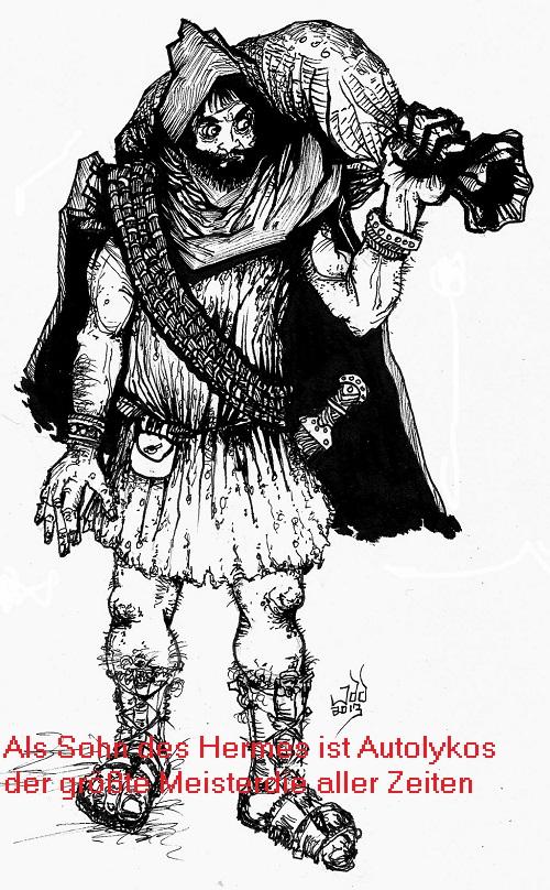 Autolykos (Mythologie): Als Sohn des Hermes ein besonders begabter Dieb Autoly10