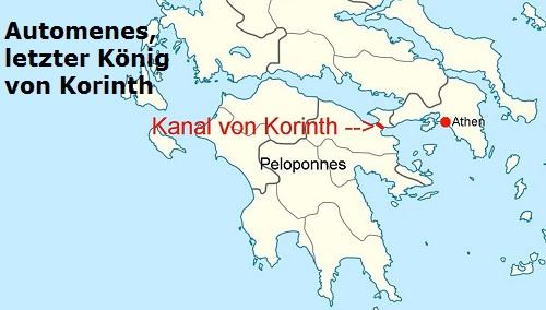 Automenes (Mythologie): Letzter König von Korinth Autome10