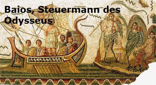 Baios (Mythologie): Steuermann des Odysseus Baios10