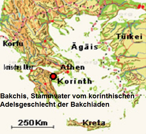 Bakchis (Mythologie): Stammvater der Bakchiaden Bakchi10