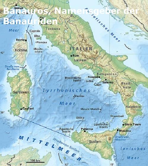 Banauros (Mythologie): Sohn des lokrischen Aias Banaur10