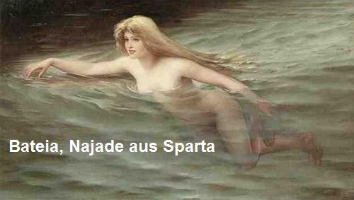 Bateia (Mythologie): Najade aus Sparta Bateia11