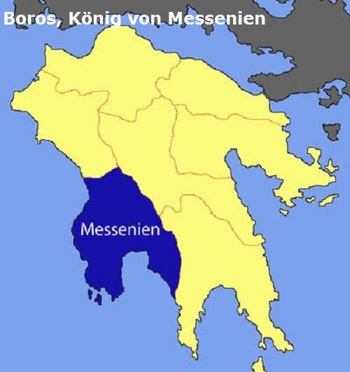 Boros (Mythologie): König von Messenien Boros11