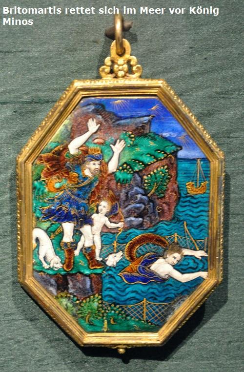 Britomartis (Mythologie): Einst stellte Minos der Nymphe Britomartis nach Britom10
