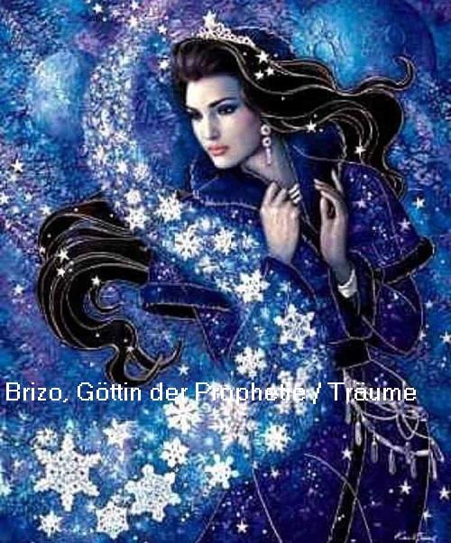 Brizo (Mythologie): Göttin der Prophetie / Träume auf Delos Brizo10