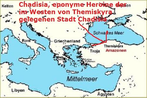 Amazone Chadisia (eponyme Heroine, Mythologie) Chadis11