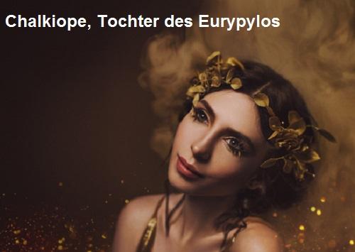 Chalkiope (Mythologie): Tochter des Eurypylos Chalki11