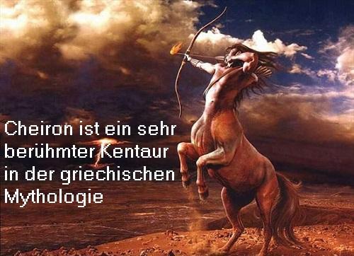 Cheiron (Mythologie): Besonders berühmter Kentaur, mit den Göttern befreundet, hat zahlreiche Helden ausgebildet Cheiro10