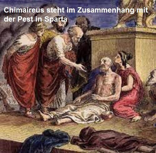 Chimaireus (Mythologie): Sohn des Prometheus und der Celaeno Chimai11