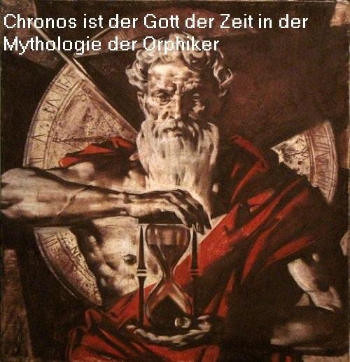 Chronos: Gott der Zeit aus der Mythologie der Orphiker Chrono10