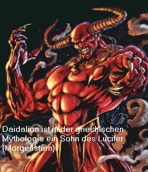 Daidalion (Mythologie): Sohn des Lucifer (Morgenstern) Daidal10