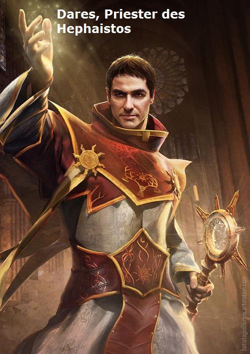 Dares (Mythologie): Priester des Hephaistos Dares10