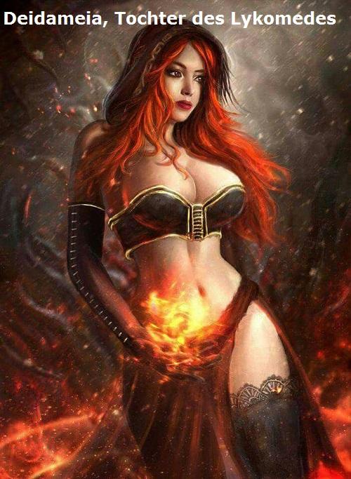 Deidameia (Mythologie): Tochter des Lykomedes Deidam10
