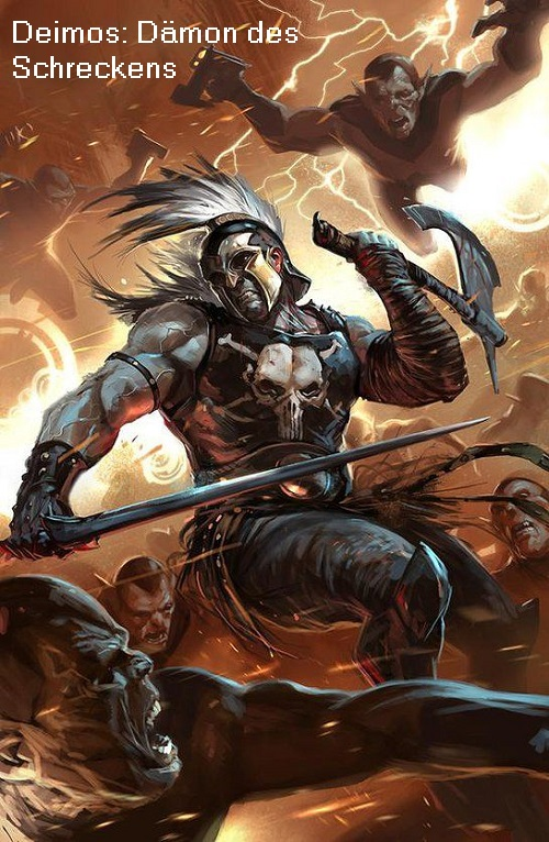 Deimos (Mythologie): Dämon des Schreckens Deimos10
