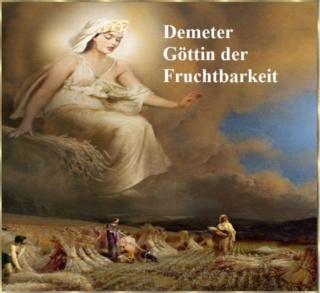 Demeter: Göttin der Fruchtbarkeit der Erde (Getreide, Saat und Jahreszeiten) Demete10