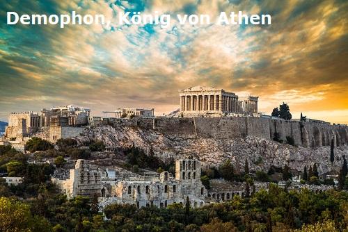 Demophon (Mythologie): Sohn des Theseus und König von Athen Demoph10