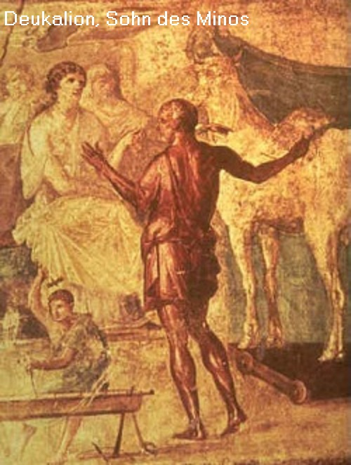 Deukalion (Sohn des Minos): Mehrere Gestalten der griechischen Mythologie heißen Deukalion Deukal10
