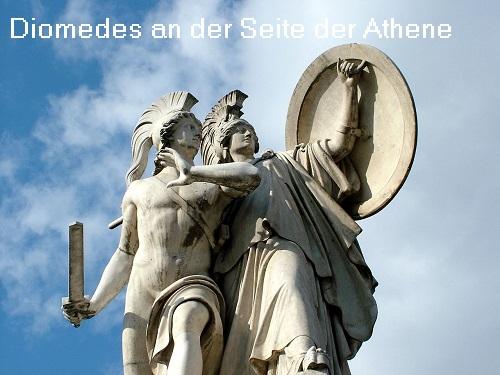 Diomedes (Mythologie): Sohn des Tydeus, nahm am Zug der Erigonen teil und am trojanischen Krieg Diomed10