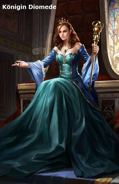 Diomede, Königin der Landschaft Lakonien und von Sparta (Mythologie) Diomed11