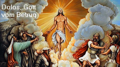Dolos (Dolus, Mythologie): Gott vom Betrug und der Täuschung Dolos10