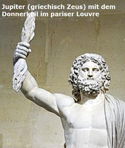 Donnerkeil (Mythologie): Waffe des Himmelsvaters (Zeus, Baal, Thor, Taranis, etc.) Donner10
