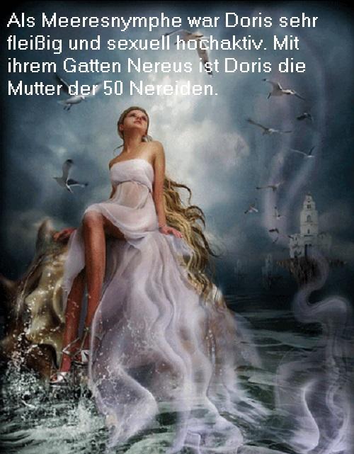 Doris (Mythologie): Als Okeanide die Mutter der 50 Nereiden Doris10
