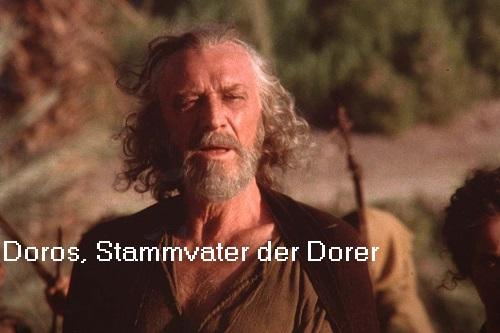 Doros (Mythologie): Stammvater vom Stamm der Dorer Doros10