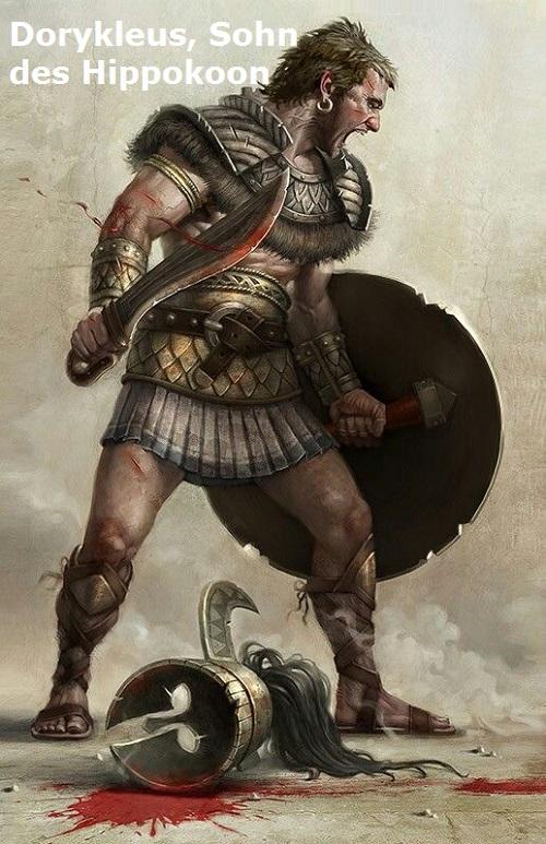 Dorykleus (Mythologie): Sohn des Hippokoon Dorykl10