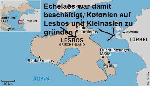 Echelaos (Mythologie): Sohn des Penthilos Echela10