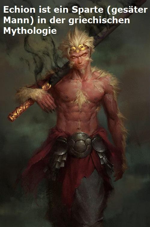 Echion (Mythologie): Sparte, der Theben (Kadmeia) unter Kadmos miterbaute Echion10