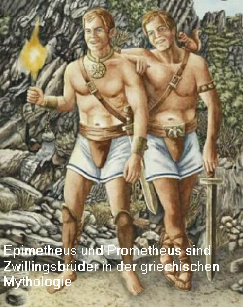 Epimetheus (Mythologie): Der danach denkende Titan, Zwillingsbruder von Prometheus Epimet10