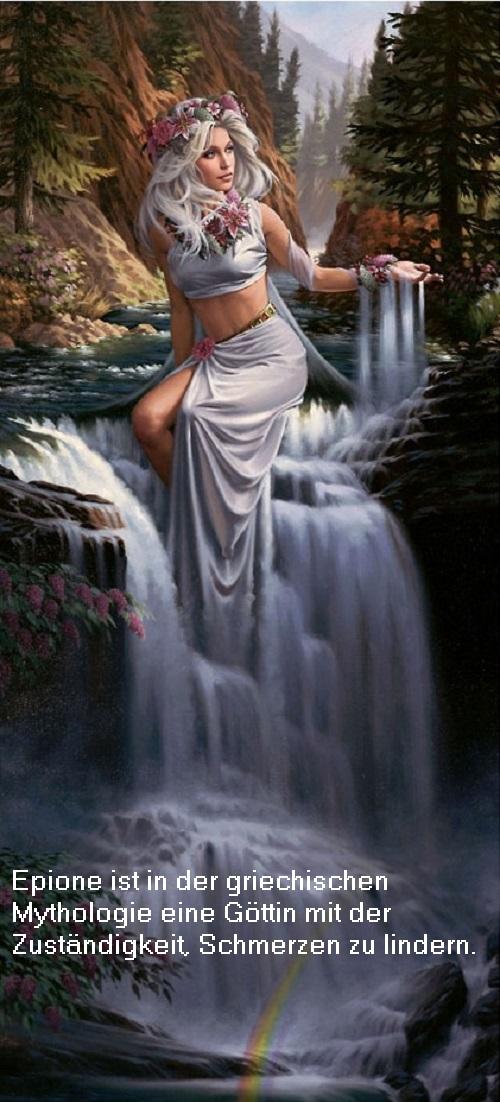 Epione (Mythologie): Göttin mit der Zuständigkeit, Schmerzen zu lindern Epione10
