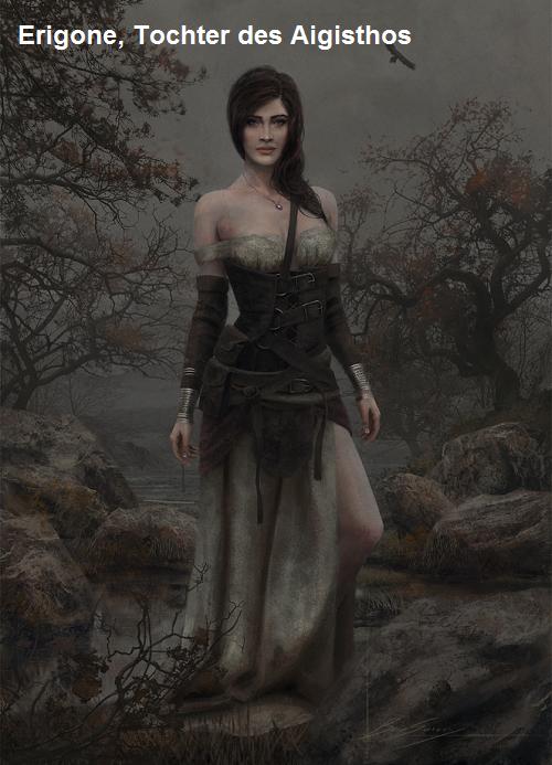 Erigone (Mythologie): Tochter des Aigisthos Erigon10