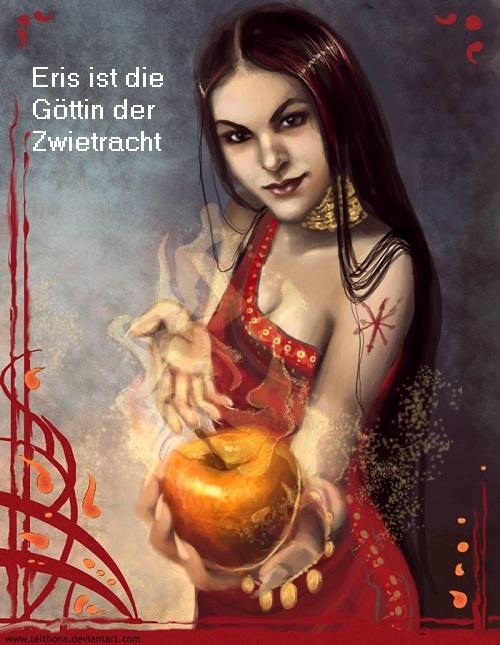 Eris (Mythologie): Göttin der Zwietracht und vom Zank und Streit Eris11