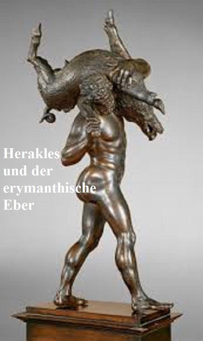 Das erymanthische Eber Ungeheuer Eryman10