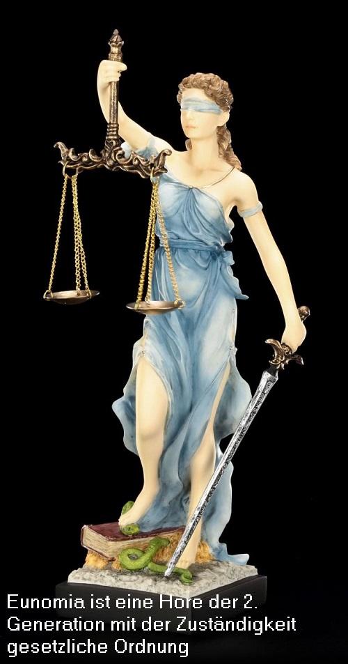 Eunomia (Mythologie): Eunomia ist eine Hore der 2. Generation mit der Zuständigkeit Gesetzgebung Eunomi10