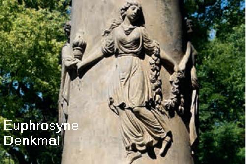 Euphrosyne (Mythologie): Als Charite / Grazie eine den Hauptgöttern dienende Untergöttin Euphro10