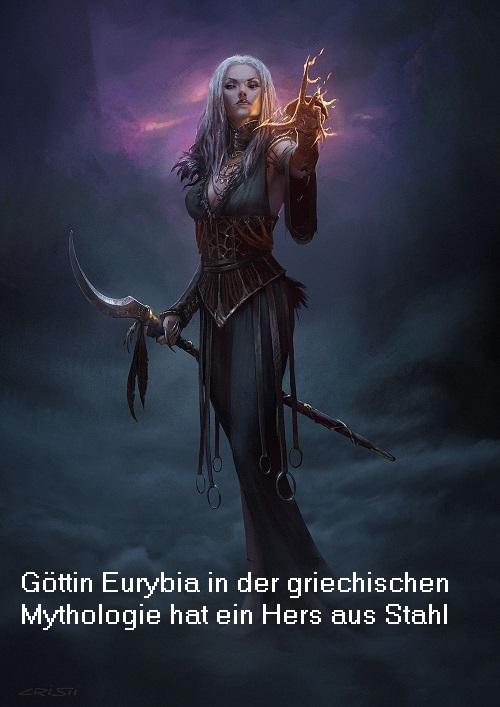 Eurybia: Die weithin gewaltige Göttin mit einem Herz aus Stahl Eurybi10
