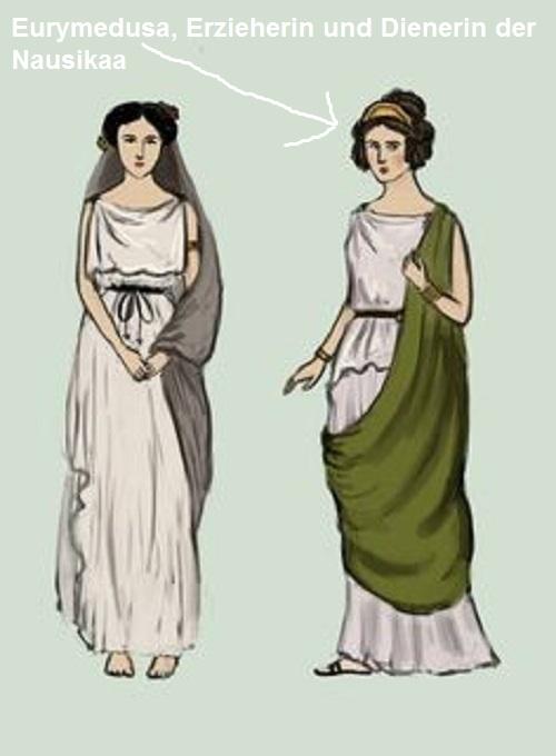 Eurymedusa (Mythologie): Erzieherin und Dienerin der Nausikaa Euryme10