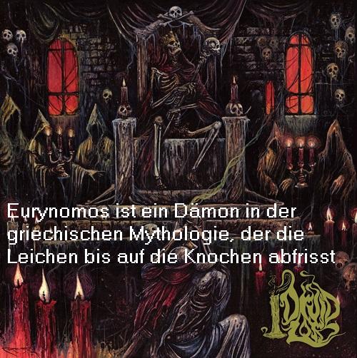 Eurynomos (Mythologie): Dämon, der die Leichen bis auf die Knochen abfrisst Euryno10