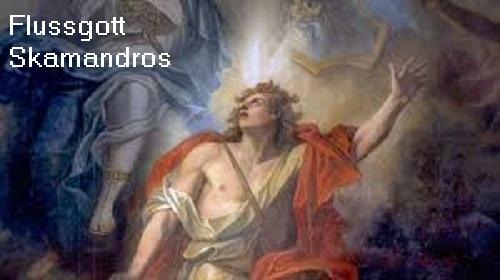 Flussgott Skamandros (Mythologie): Vater des Teukros und der Kallirrhoë Flussg10