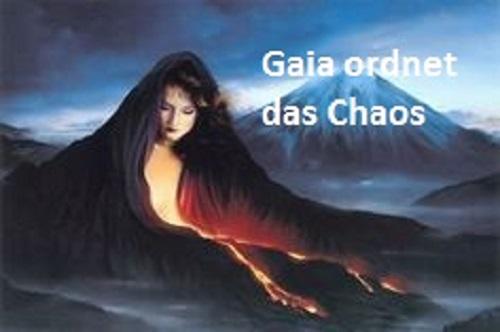 Gaia personifiziert in der griechischen Mythologie die Erde und gilt gleichzeitig als Göttin Gaia210
