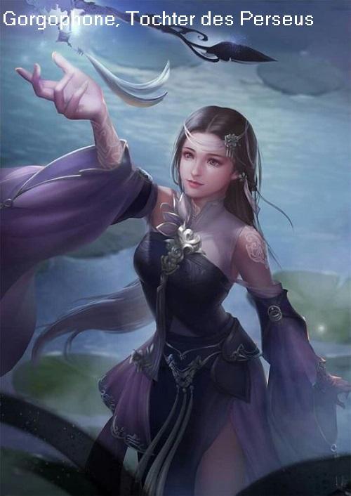 Gorgophone (Mythologie): Tochter des Perseus Gorgop10